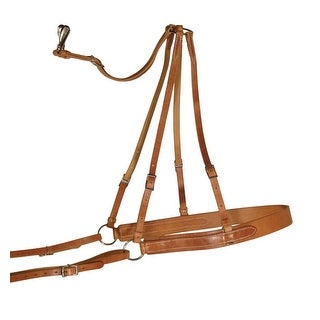Berlin Custom Leather Breeching Hermann Oak Harness Mules
