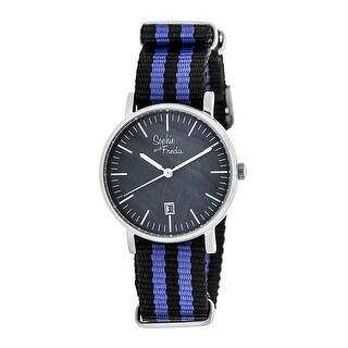 Sophie and Freda Nantucket Women's Quartz Watch, Nylon Strap