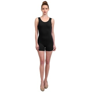 NE PEOPLE Women's Sexy Sleeveless Tank Top Solid Color Comfortable Fitted Short Bodysuits