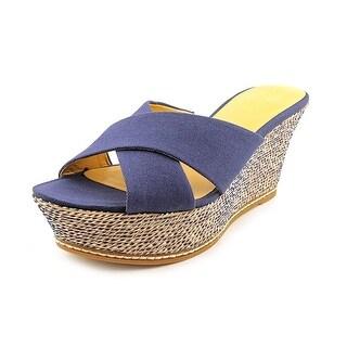 Nine West Womens HAVAHA Open Toe Casual Platform Sandals