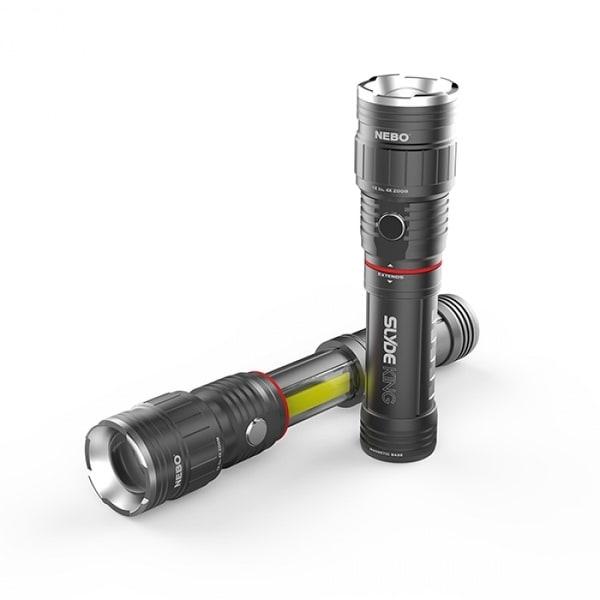 Nebo 6564 Slyde Plus Aluminum Flashlight & COB LED Work Light, 300 Lumen