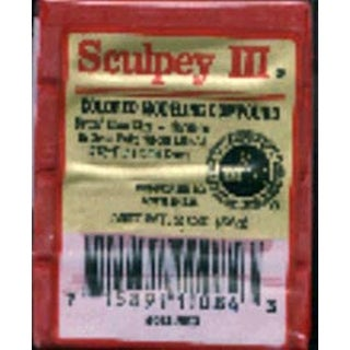 New Red - Sculpey Iii Polymer Clay 2Oz