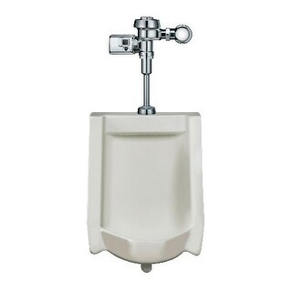 Sloan WEUS-1000.1402 High Efficiency Urinal features a battery-battery powered, sensor-operated Optima? SMO (Side Mount
