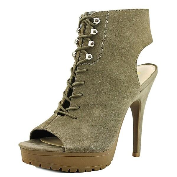 Bar III Emiko Women Taupe Gray Sandals
