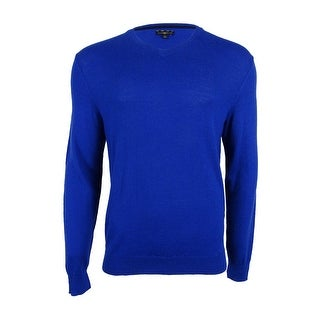 Club Room Men's Merino Blend V-Neck Sweater (More options available)