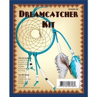 Realeather Crafts C4250-00 5 in. Leathercraft Kit - Dreamcatcher