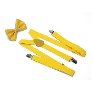 Gravity Threads Bowtie And Suspenders Combo Package - One size