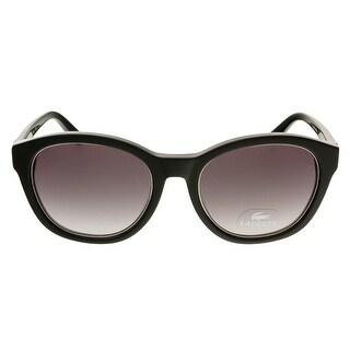 Lacoste L713S 001 Black Round Sunglasses