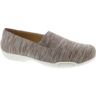 Ros Hommerson Women's Carmela Slip-On Shoe Taupe Multi Fabric