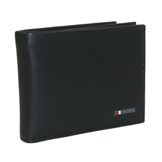 Tommy Hilfiger Men's Leather Lloyd Multi-Card Passcase Bifold Wallet - One size