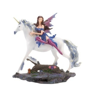 Fairy & Unicorn Figurine