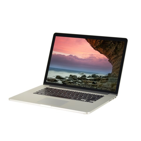 "Apple MacBook Pro A1398 Intel Core i7-4770HQ 2.2GHz 16GB RAM 500GB SSD 15.4"" Retina Mac OS Laptop (Refurbished B Grade)"