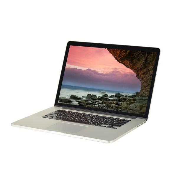 """Apple MacBook Pro A1398 MGXA2LL/A Intel Core i7-4770HQ 2.2GHz 16GB RAM 500GB SSD 15.4"""" Retina Mac OS Laptop (Refurbished)"""