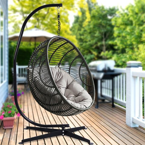 C Hammock Chair Stand Hanging Chair Stand