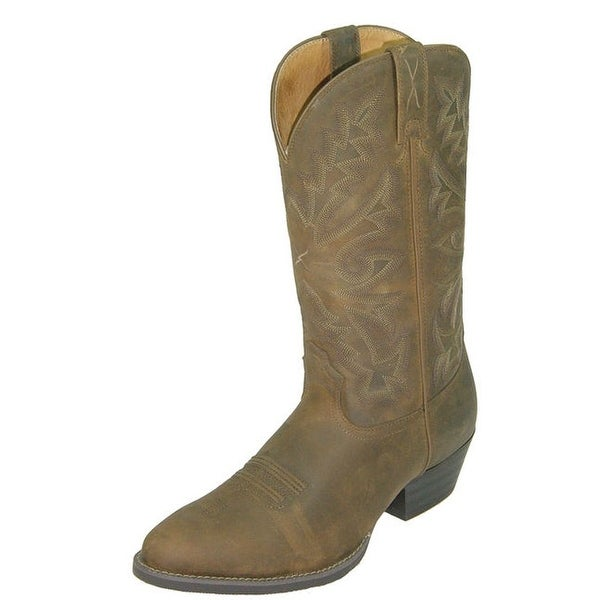 Twisted X Western Boots Mens Leather Cowboy Distressed Saddle
