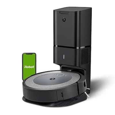 iRobot Roomba i3 PLUS Robot Vacuum with Automatic Dirt Disposal