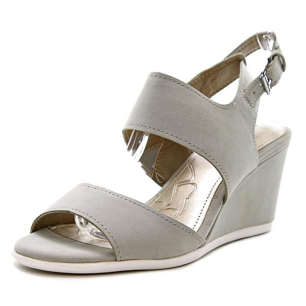 Giani Bernini Lynette Women Open Toe Synthetic Wedge Sandal