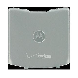 OEM Motorola RAZR V3m Battery Door, Standard size - Silver (Bulk Packaging)