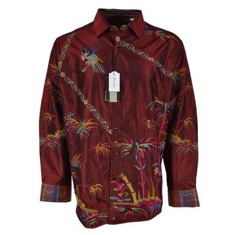 Robert Graham SAMURAI SPIRIT Embroidered Silk Limited Edition Shirt