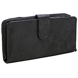 Buxton Heiress Wallet Checkbook Case, One Size