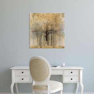 Easy Art Prints Avery Tillmon's 'Open Arms Gold Crop' Premium Canvas Art