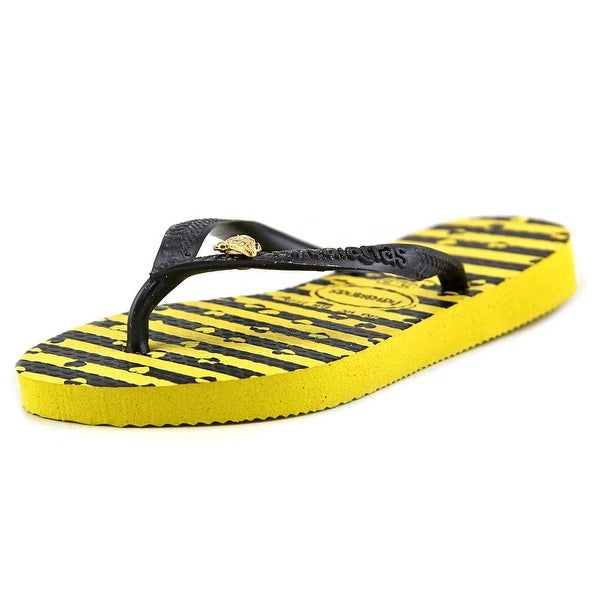 Havaianas Original Slim Beauty & The Beast Toddler Open Toe Synthetic Yellow