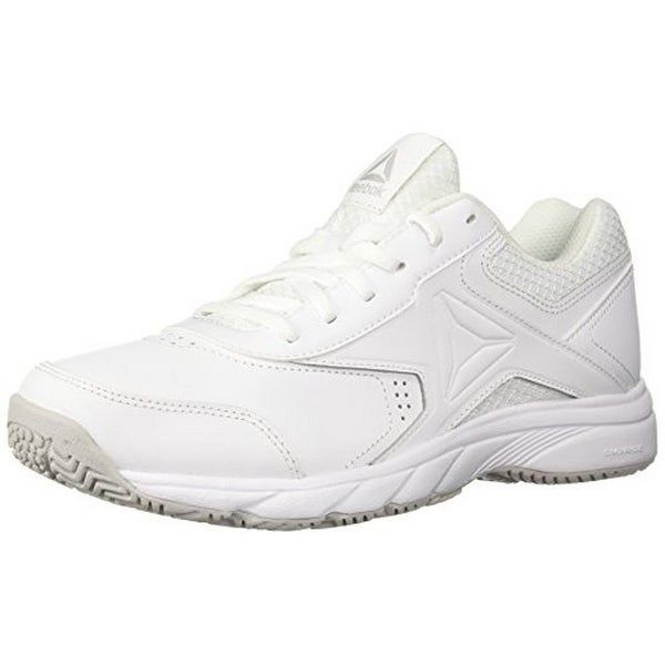 Reebok Womens Work N Cushion 3.0, White/Steel