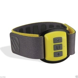 Scosche RHYTHM Bluetooth Armband Heart Rate Monitor - Yellow/Black