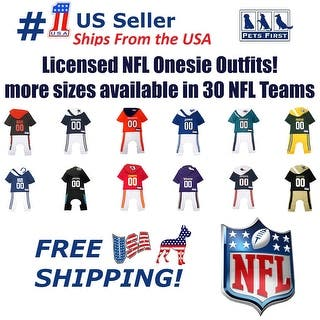 367c4743c Pets First NFL Pajama Outfit for DOGS   CATS - Licensed