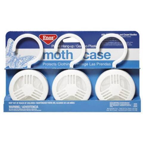Enoz 4033-4 Moth Cake with Hanger, 2 Oz, 3-Pack