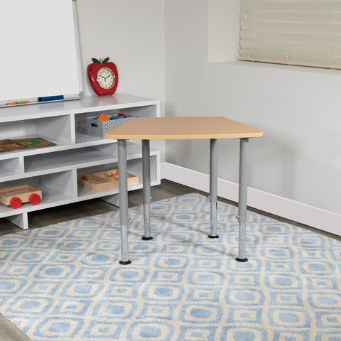 Hex Collaborative Adjustable Student Desk - Home and Classroom