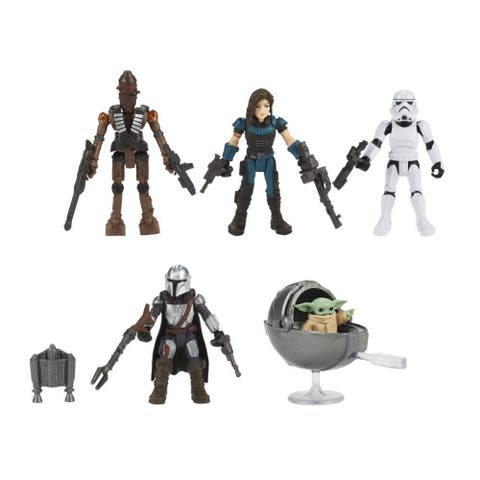 Star Wars Mission Fleet Defend The Child 2.5-Inch-Scale Action Figure 5-Pack, Toys For Kids Ages 4 And Up