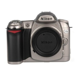 Nikon D50 DSLR Camera (Body) (Chrome) (International Model)