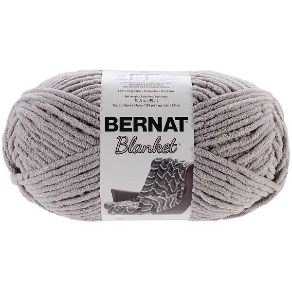 Bernat Blanket Big Ball Yarn-Pale Grey - gray