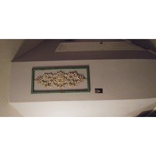 Stratton Home Decor Scroll Panel Wall Decor