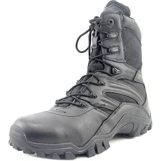 Bates Delta 8 Lace Round Toe Leather Combat Boot