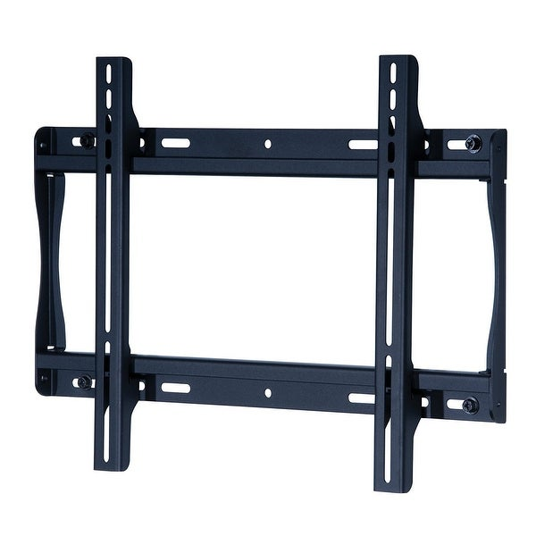 Peerless Sf640 Universal Fixed Low-Profile Wall Mount For 32 Inch To 60 Inch Displays Black