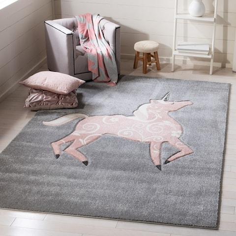 Safavieh Carousel Kids Maronna Unicorn Rug