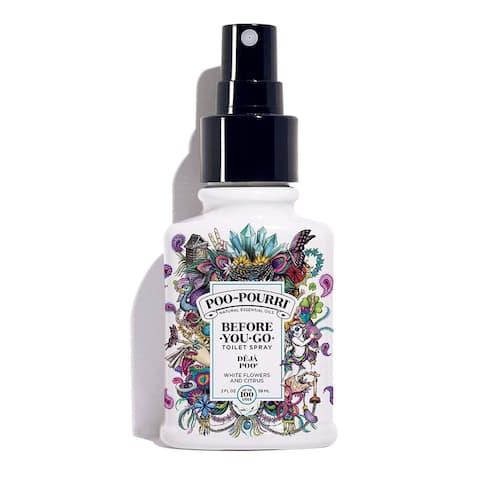Poo-Pourri Before You Go White Flowers and Citrus Toilet Spray 2 oz