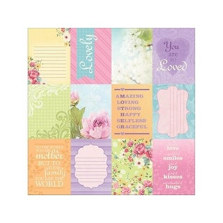 Paper House Paper 12x12 Moms Tags