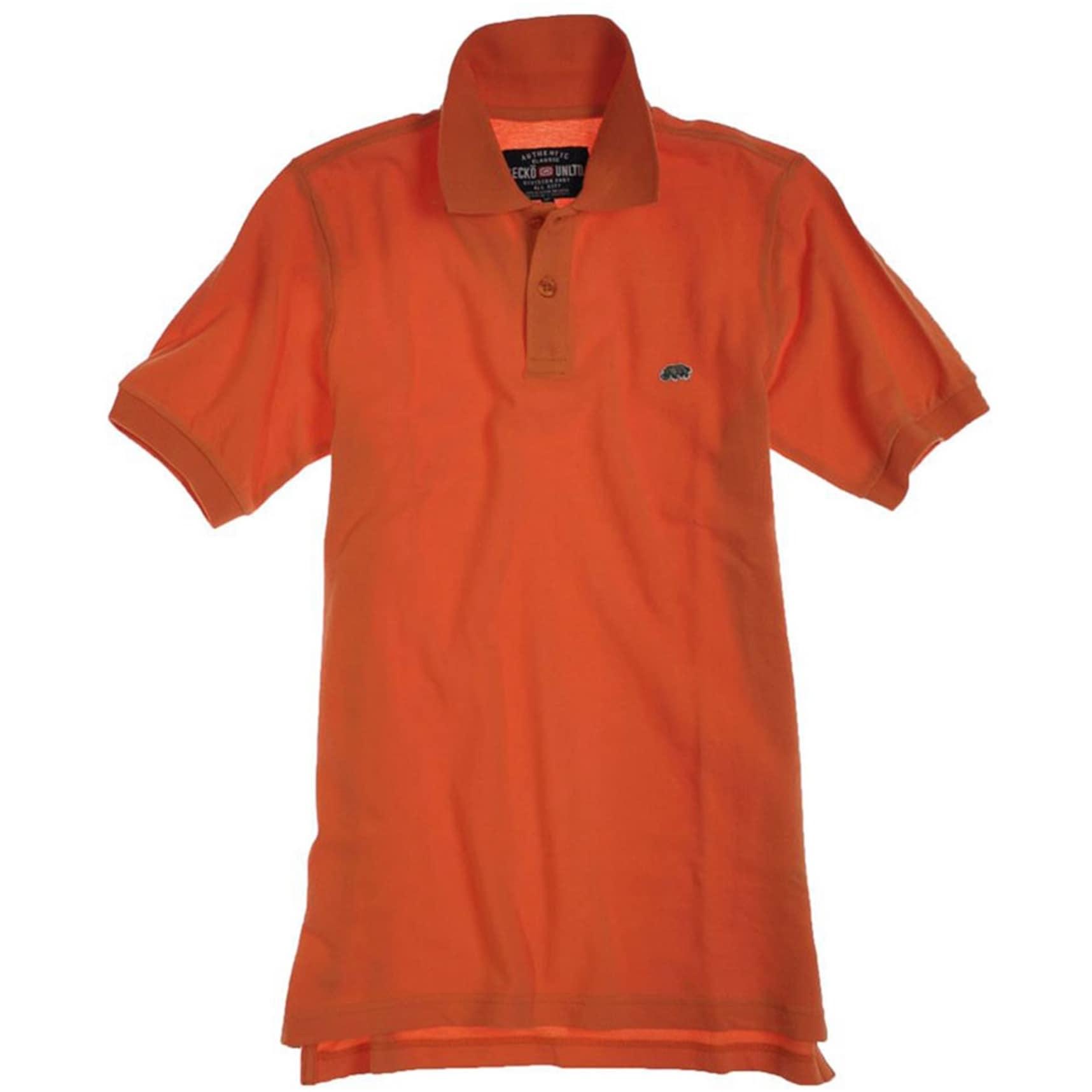Mens EU 72 Official Trdmrk Crest Rugby Polo Shirt Ecko Unltd