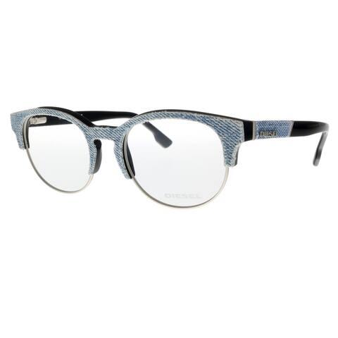 Diesel DL5138 092 Grey Rectangle Optical Frames - 50-19-145