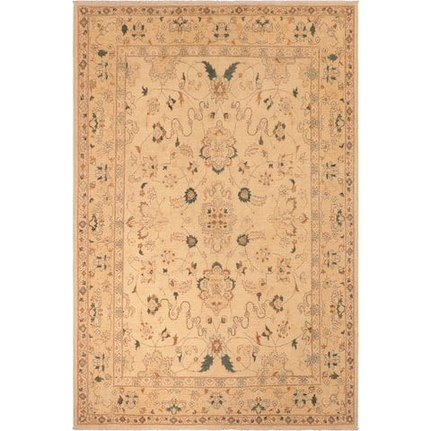 """Bohemien Ziegler Exie Hand Knotted Area Rug -8'0"""" x 10'2"""" - 8 ft. 0 in. X 10 ft. 2 in."""