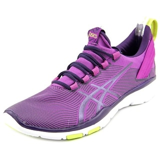Asics Gel-Fit Sana 2 Women Round Toe Canvas Purple Running Shoe