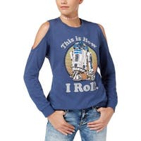 Star Wars Juniors R2-D2 Sweatshirt This Is How I Roll Graphic - M