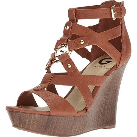 G by Guess Womens Dodge Open Toe Casual Platform Sandals - Free Shipping On  Orders Over $45 - Overstock.com - 23850917