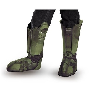 Halo Master Chief Costume Boot Covers Child One Size