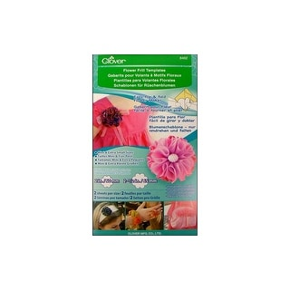 Clover Template Flower Frill Mini & Extra Small