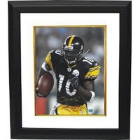 new style 96a4c 303c1 Shop Santonio Holmes signed Pittsburgh Steelers 16x20 Photo ...