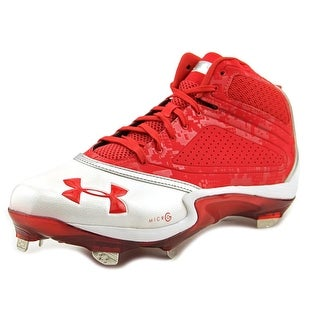 Under Armour Heater Mid ST Men Red/Wht Cleats